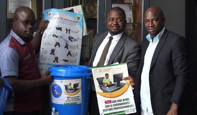 Coronavirus: début de la phase-terrain de sensibilisation des médias numériques ivoiriens